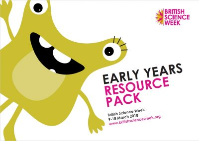 Image of front cover of the Early Years resource pack