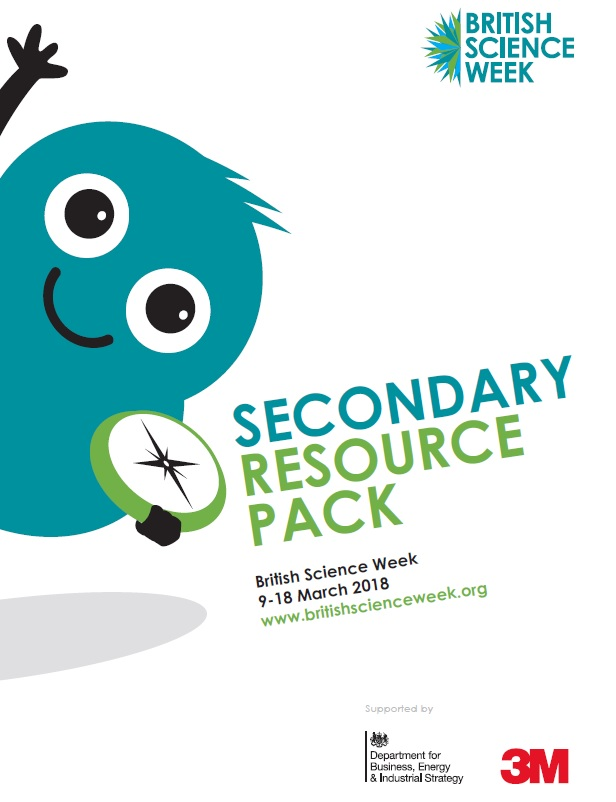 Image of the front cover of the Secondary Resource Pack 2018