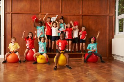 Sport Relief - Primary School children
